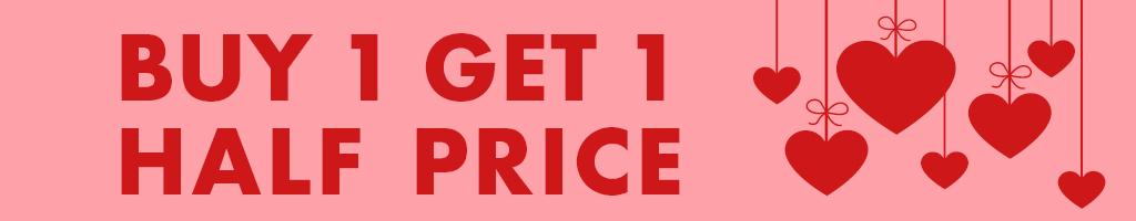 Buy 1, Get 1 Half Price Romance 2020