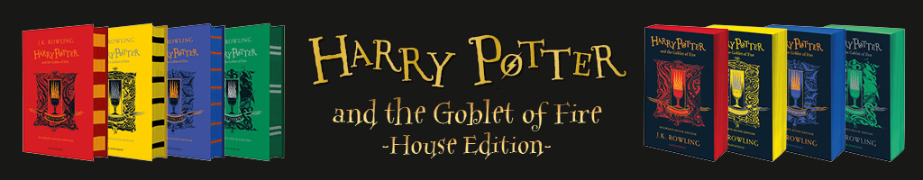 Harry Potter & The Goblet Of Fire House Editions