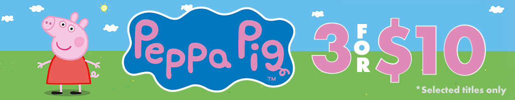 Peppa Pig 3 for 10