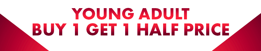 Buy 1 Get 1 Half Price Young Adult January 2020