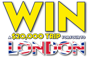 Win a $20,000 Trip for four to London