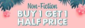 Buy 1 Get 1 Half Price Non Fiction