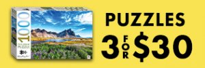 Puzzles 3 For $30