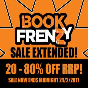 Book Frenzy Sale Extended