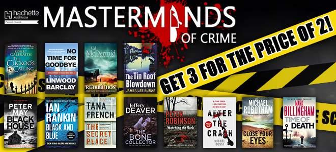 Masterminds of crime writing