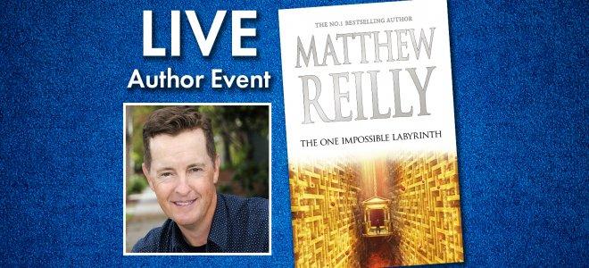 Facebook Live Matthew Reilly In Conversation