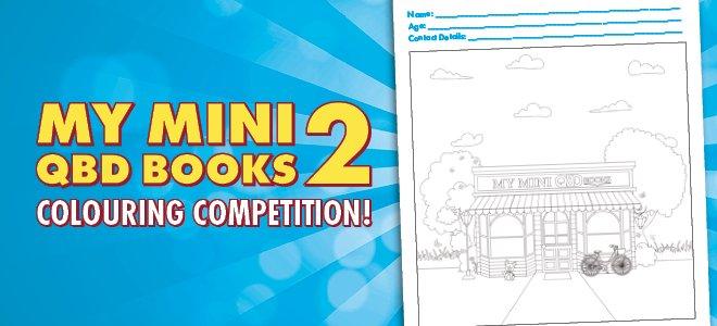 My Mini QBD Books Colouring Competition