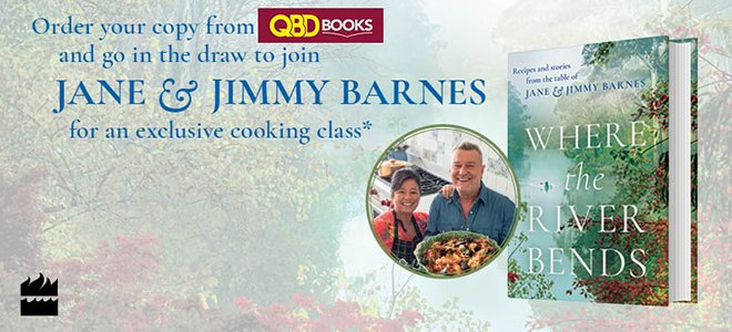 Win A Cooking Class With Jimmy and Jane Barnes!