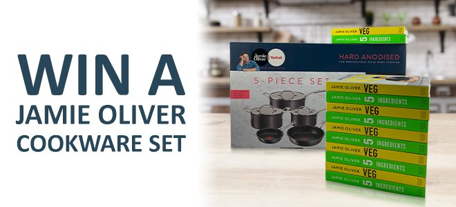 Win A Jamie Oliver Cookware Set