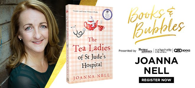 Books and Bubbles with Joanna Nell