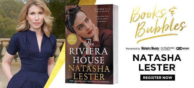 Books and Bubbles with Natasha Lester