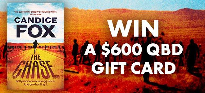 Win A $600 QBD Gift Card