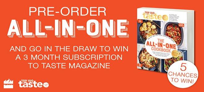 Win A 3 Month Taste Magazine Subscription