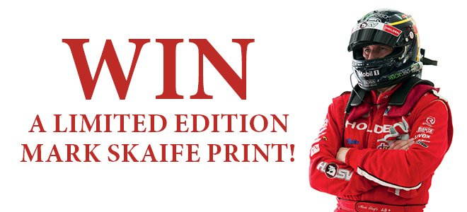 Win A Limited Edition Mark Skaife Print