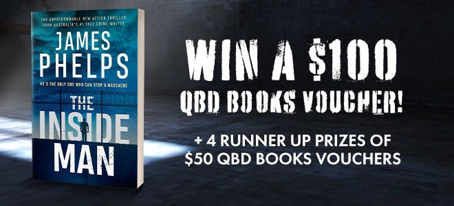 Win a $100 QBD Gift Card with The Inside Man