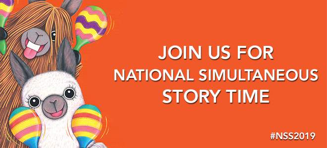 Join Us For National Simultaneous Storytime 2019