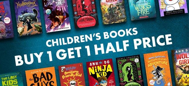 April 2021 Buy 1 Get 1 Half Price Children's Fiction