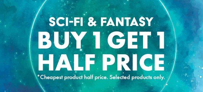 Buy 1 Get 1 Half Price Sci Fi Fantasy Novels