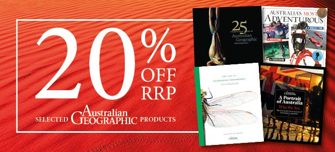 20% Off Selected Pictorial Books