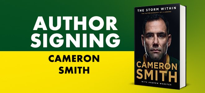 Cameron Smith Signings 2020