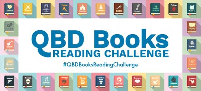 QBD Books Reading Challenge