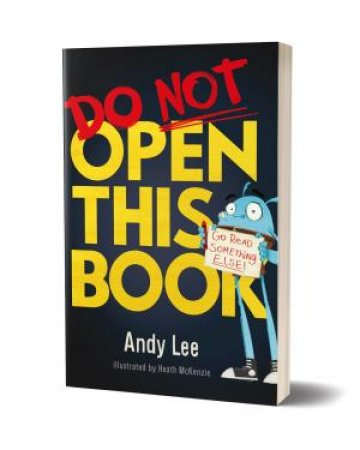 Mini Book - Do Not Open This Book by Unknown