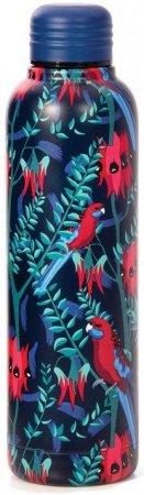 Aus Collection: Water Bottle Birds Crimson Rosella 500ml by Various