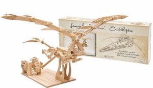 Pathfinders: Da Vinci Ornithopter Wooden Kit by Various