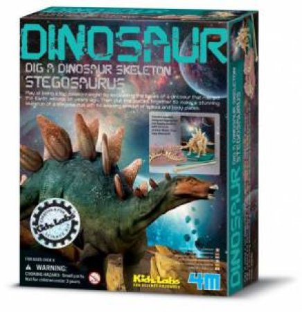 4M: Dig a Dinosaur Stegosaurus by Various
