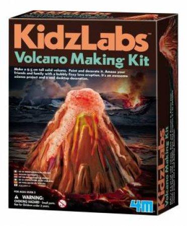 4M: KidzLabs: Volcano Making Kit by Various