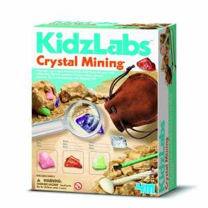 4M: KidzLabs: Crystal Mining by Various