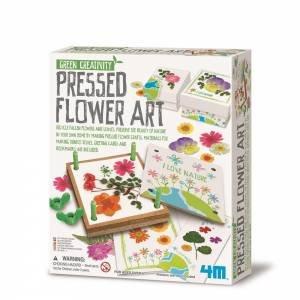 4M: Green Science: Pressed Flower Art by Various
