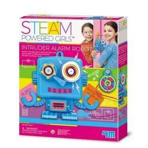 4M: STEAM Powered Kids: Intruder Alarm Robot by Various