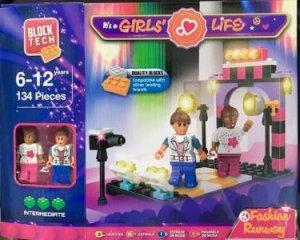 Block Tech Small: It's A Girls' Life: Fashion Runway