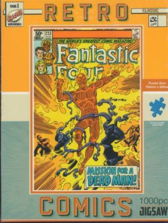 Jigsaw Retro Comics Fantastic Four