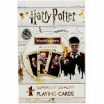 Harry Potter Playing Cards  White Edition