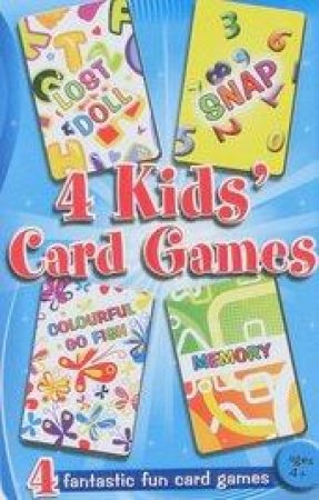 4 Kids Card Games Tin by Various