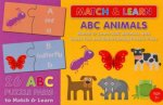Match & Learn Box: Animal ABCs by Various