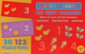 Match & Learn Box: Arithmetic by Various