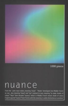 Nuance Magnetic Field 1000pc Jigsaw Puzzle