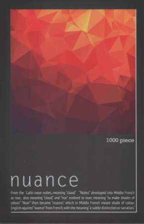 Nuance Triangles 1000pc Jigsaw Puzzle