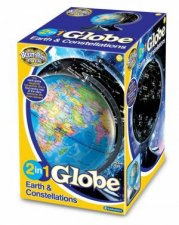 2In1 Globe Earth And Constellations