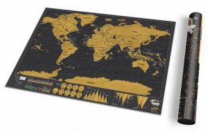 Luckies Scratch Map Deluxe: Travel Edition by Various