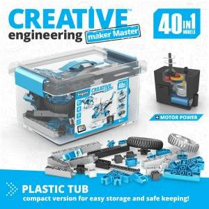 Creative Engineering 40 In 1 Motorized: Maker Master by Various