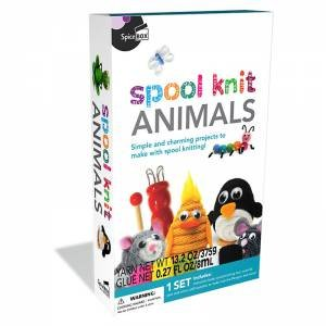 SpiceBox: Spool Knit Animals by Various