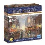 1000pc John Bradley Trams In Gaslight Jigsaw