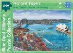 1000pc Sarina Tomchin Tea and Papers Jigsaw