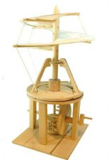 Pathfinders Da Vinci Helicopter Wooden Kit