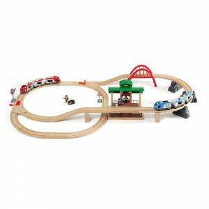 BRIO Set: Travel Switching Set, 42 pieces by Various