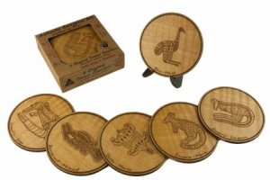 Australian Indigenous Animal Coasters by Various